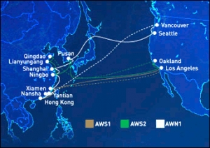 UASC - CSCL COLLABORATION FOR THREE TRANSPACIFIC SERVICES